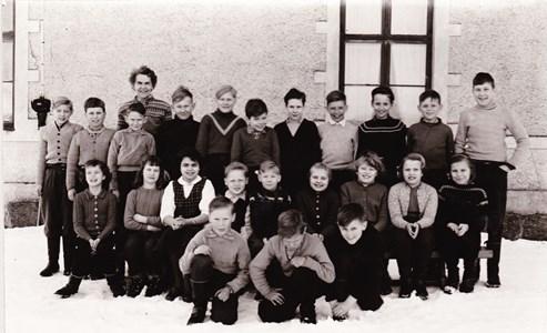 Aspö skola klass 3-5 1956