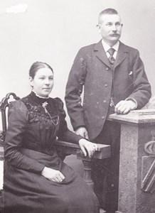 Tegelslagare Stark med fru