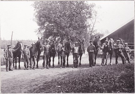 Edebys arbetsstyrka 1930