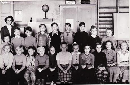 Aspö skola klass 4-6 hösten 1953
