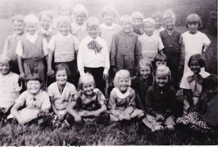 Aspö skola klass 1-2 1936