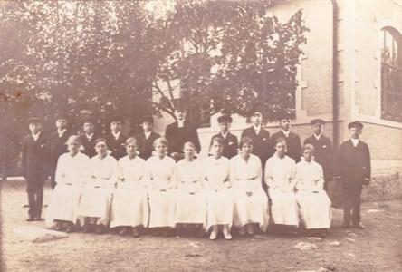 Konfirmation 1918 i Aspö kyrka