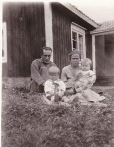 Georg Karlsson med familj