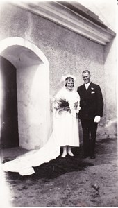 Harry och Olga Lidberg 1931
