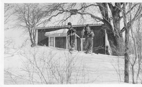 Vinter vid Fredriksborg