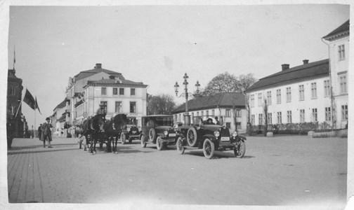Mjölktransport i Nyköping