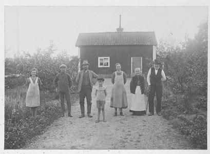 Familjen Westerberg vid Tysktorp