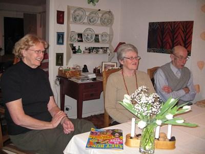 Ragnhild Söderberg, Gunnel Gustafsson, Folke Söderberg