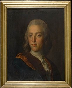 Baltzar Hoffler självporträtt