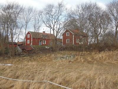 Östergården, de äldre husen