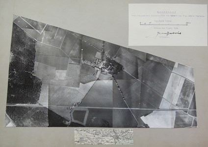 Flygbild över Väderbrunn