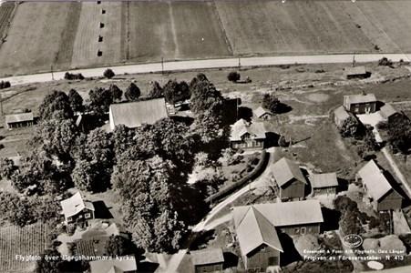 Mellangården/Övre Bredgården 1950