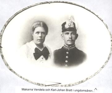 Karl Johan och Vendela Bratt