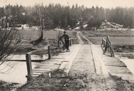 Bron över Kilaån vid Ekeby