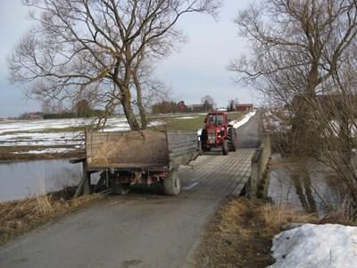 Bron vid Åby över Kilaån