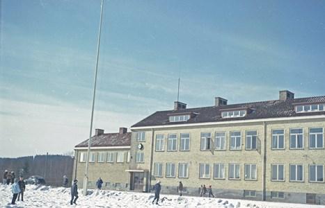 Hällingsjö skola mars 1963