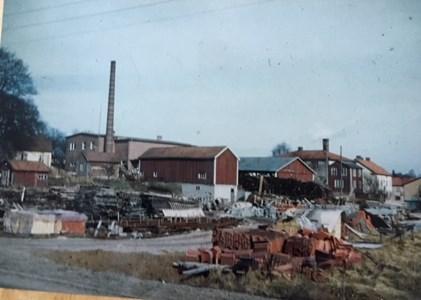 Mejeriet Bredaryd, idag ligger ICA butiken på platsen