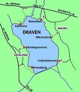 Karta över Draven.