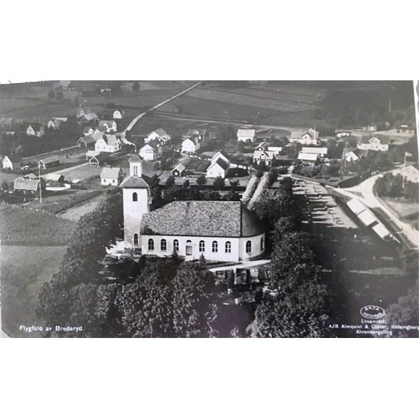 Flygfoto av Bredaryd