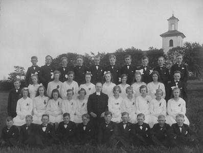 Konfirmationskort 1930, Bredaryds kyrka.