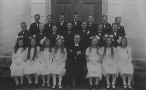 Konfirmationskort 1926, Bredaryds kyrka.