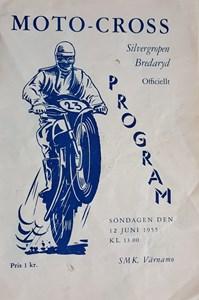 Moto-cross tävling Bredaryd 1955