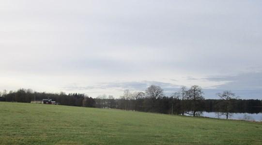 Platsen där Eskilstorps Säteri låg.
