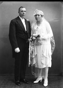 01-02-02-1892-Konrad Nyström-01-G-Konrad o Anna Nyströms Bröllop 1929.jpg