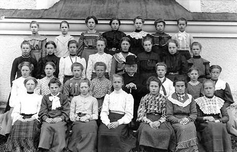 15-02-1907 ca-Kyrkan-Konfirmation