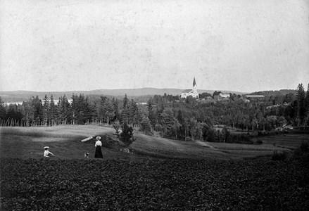 Stommen-Vy från nordväst 1905