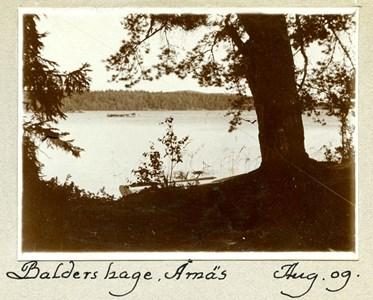 42-03-00-Årnäs-Herrgården-09-Utsikt från Årnäs 1909.jpg