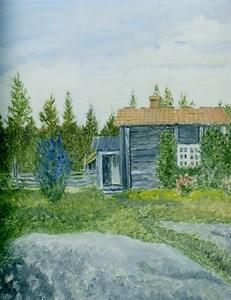 07-10-00-Finnebäck-Axestugan-02-Målning
