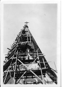 15-04-00-Kyrkan-45-Rep kyrkans torn ca 1969