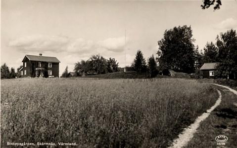 46-05-Vykort-08-St Skärmnäs-Biskopsgården ca 1940