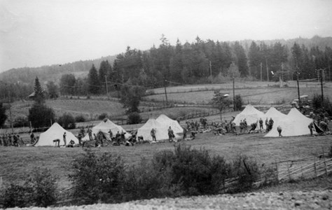 00-05-Brunskog-Berdskap-19-Vikene-Manöver Vikerängarna 1940-tal