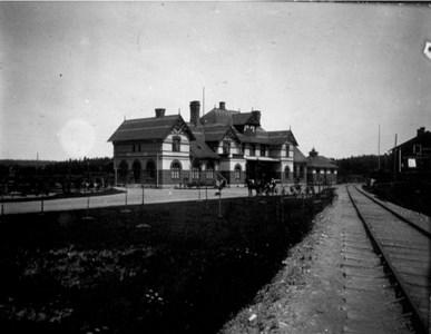 Västanfors järnvägsstation