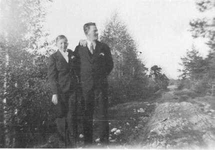 Willy och Nils Runnander.