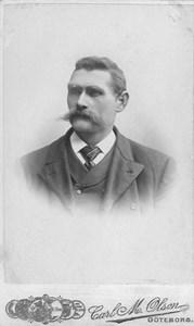 Sjökapten Carl Jakob Elias Hellström.