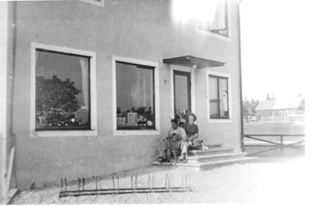 Runnanders affär nybyggd Sent 30-tal.