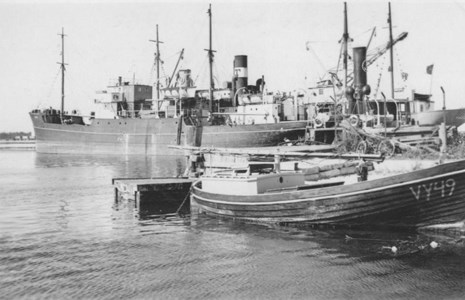 Storugns hamn 1952.