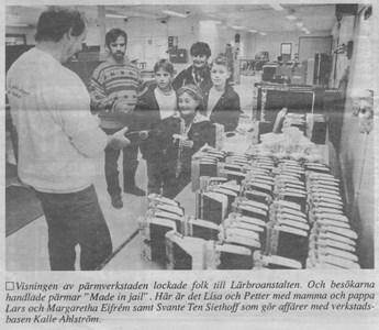 Pärmverkstaden Visning i samband med Lärbrodag 1993.jpg