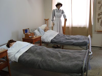 Muséet. Krigssjukhuset