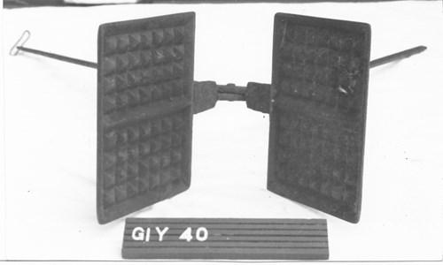 Gi.Y.0040 Våffeljärn