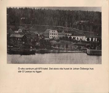 007.02 Stadens fotografier 1 - Ö-viks centrum på 1870-talet