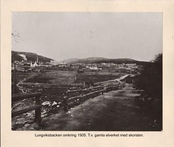 007.23 Stadens fotografier 1 - Lungviksbacken omkring 1905