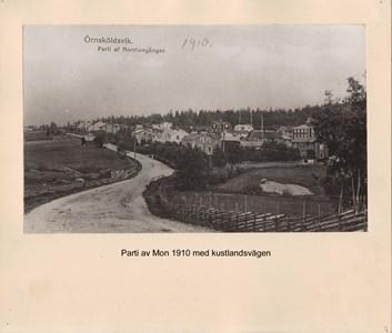 007.24 Stadens fotografier 1 - Mon med kustlandsvägen 1910