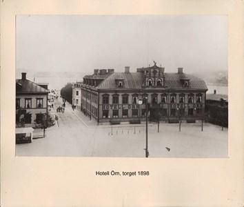 007.03 Stadens fotografier 1 - Hotell Örn brinner 1936