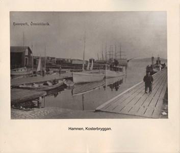 008.09 Stadens fotografier 2 - Hamnen Kosterbryggan