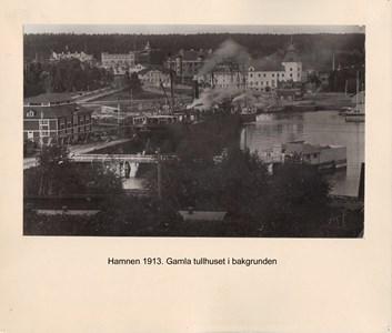 008.14 Stadens fotografier 2 - Hamnen 1913