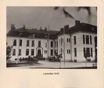 008.22 Stadens fotografier 2 - Lasarettet 1916